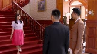 《戴流苏耳环的少女》灰姑娘一袭长裙华丽出场,会长看的眼睛都挪不开了,简直太美了!