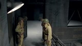 《战火中的兄弟》两人潜伏到日军监狱,换岗的鬼子还来不及反应,就惨死刀下