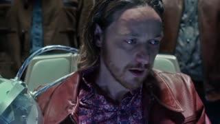 《X战警:逆转未来》查尔斯控思维,隔空与瑞雯对话