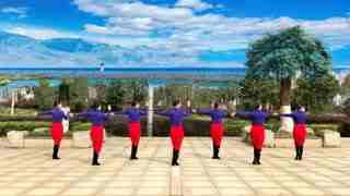 春英广场舞《为你而来》广场单人水兵舞
