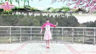 动动广场舞《在那桃花盛开的地方》五福天团组合原创第2支