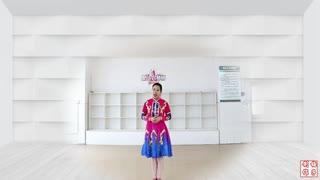 刘荣广场舞《原草香》原创附教学和背面演示