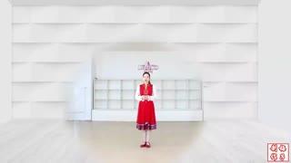 刘荣广场舞《中国美草原美》原创附教学和背面演示
