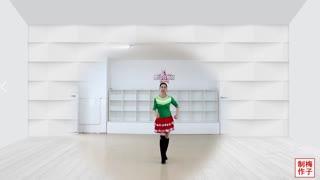 刘荣广场舞《24步健身舞》原创附教学和背面演示