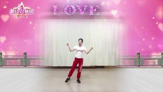 林州芳心广场舞《爱情的力量》超简单32步,散发不一样的美