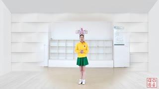 刘荣广场舞《摇滚女王》原创附教学和背面演示