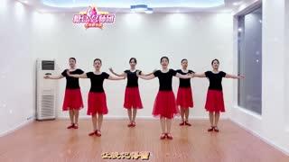 林州芳心广场舞《假如你是陌生人》原创形体舞附教学
