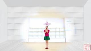 劉榮廣場舞《渡紅塵》原創附教學和背面演示