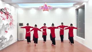 林州芳心广场舞《旗袍美人》原创祝塘豆app四周岁生日快乐
