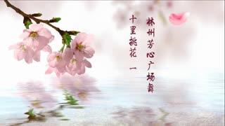 林州芳心广场舞《十里桃花一生情》原创附教学