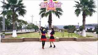 红蝶广场舞《游牧情歌》原创双人舞对跳零基础附分解