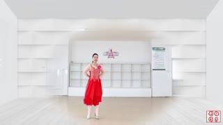 刘荣广场舞《我和我的祖国》原创附教学和背面演示