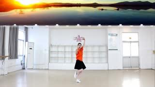 刘荣广场舞简单健康活力健身舞《美好时光》附分解教学