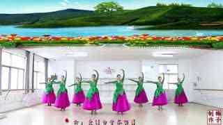 刘荣广场舞《缘分让我们在一起》原创附教学