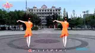 惠汝广场舞《爱在老地方》原创时尚恰恰附教学