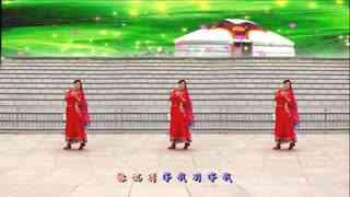 银河湾广场舞《站着等你三千年》原创唯美中三舞