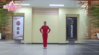 重庆叶子广场舞《恭喜恭喜》原创新年步子舞附教学