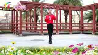 杨丽萍广场舞《好嗨哟》神曲火爆燃脂爵士舞