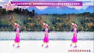 延川远儿原创藏舞《梦中的央吉拉》正反附教学