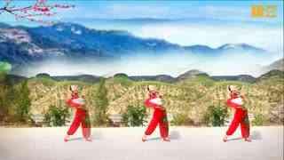 延川远儿原创扇子舞正面《心头肉》