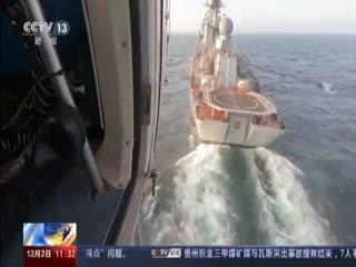 中俄南非海上联合演习完成实兵演练