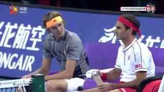 2019杭州国际网球邀请赛:费德勒 小兹维列夫VS布莱恩兄弟