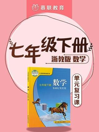 浙教版数学七年级下册小结复习课