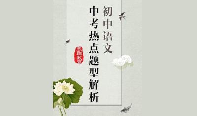 初中语文中考热点题型解析