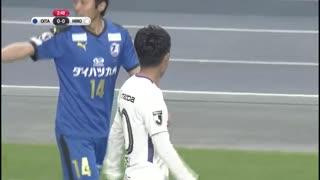 J联赛第5轮 大分三神VS广岛三箭 (中文解说)