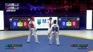 M-58kg 金牌赛 裴准叙【韩国】vs 李民勇【韩国】