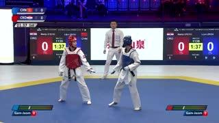 Women -57kg 周俐君【中国】 VS 玛丽亚·施特蒂克【科特迪瓦】