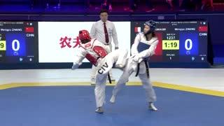 Women -67kg 张梦宇 【中国】 VS 露丝·盖比 【科特迪瓦】