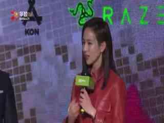 网剧《唐人街探案》见面会 张钧甯红裙显御姐范儿