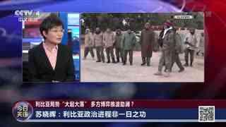 苏晓晖:利比亚政治进程非一日之功