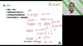高中数学004《高考真题必修4恒等变换与正弦型函数》
