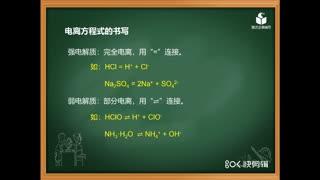 高中化学008《电解质的相关概念》