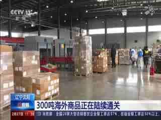 300吨海外商品正在陆续通关