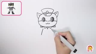 猫小帅画画 第10集