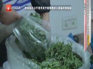浙样的生活_20200401_野菜受热捧 专家:食用野菜需谨慎