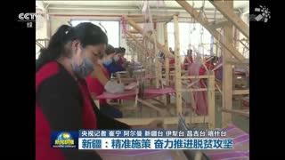 新疆:精准施策 奋力推进脱贫攻坚