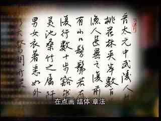 王正良教硬笔书法 第64集