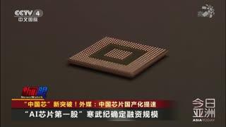 """""""中国芯""""新突破!外媒:中国芯片国产化提速"""