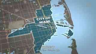 航拍城市24小时4
