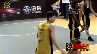 3X3黄金联赛武汉站5佳球