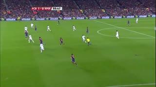 0910赛季国家德比:巴塞罗那1-0皇家马德里 伊布主场一球定江山!