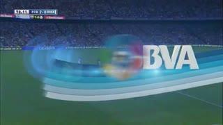 1415赛季国家德比:巴塞罗那2-1皇家马德里 内马尔传射建功,桑切斯吊射得分!