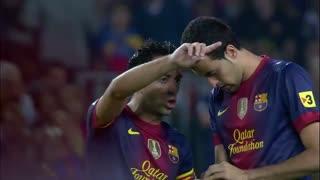 1213赛季国家德比:巴塞罗那2-2皇家马德里 各自梅开二度不含点球!最完美的梅罗争霸