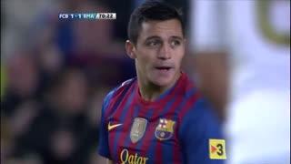 1112赛季国家德比:巴塞罗那1-2皇家马德里 C罗绝杀助皇马攻陷诺坎普!梦三宇宙队崩盘的起始