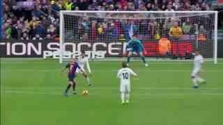1819赛季国家德比:巴塞罗那5-1皇家马德里 C罗离队梅西缺阵!苏牙三球戴帽助巴萨再送皇马五指山