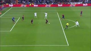1314赛季国家德比:皇家马德里3-4巴塞罗那 进球大战!梅西伯纳乌戴帽